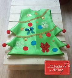 Hoy te mostramos paso a paso los trucos para hacer un #traje de #abeto navideño…