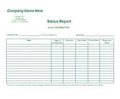 Business Reports Template in MS word - Excel Template | Business ...