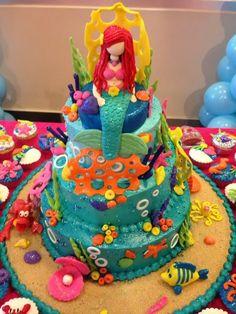 Little Mermaid Work ~! La Sirenita ~! Undersea ~!