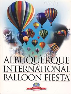 Albuquerque International Balloon Fiesta Booklets from Edie's Books - Checkout our entire collection of vintage items today!