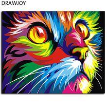 Pintura abstrata sem moldura pintura a óleo pintura diy by numbers coloring by numbers colorido animais de decoração para casa 40*50 centímetros gx4228(China (Mainland))