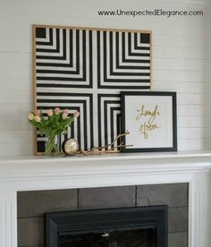This geometric cork board. | 21 Wall Art Projects That Are Actually Affordable