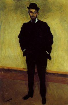 Albert Marquet - Portrait de Rouveyre (1904)