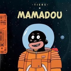 Cover Ep Mamadou by Tiers. Tintin parody parodie Tiers Monde, Clip, Mickey Mouse, Disney Characters, Fictional Characters, Album, Cover, Humor, Music