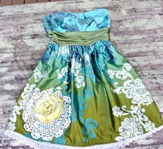 Spring French country Garden Party Dress by TrueRebelClothing, $68.00