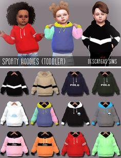 Tops - Long Sleeves - Página web de - Jeena F. Toddler Cc Sims 4, Sims 4 Toddler Clothes, Sims 4 Cc Kids Clothing, Sims 4 Mods Clothes, Toddler Outfits, Kids Outfits, Die Sims 4 Pc, Sims 4 Mm Cc, Maxis