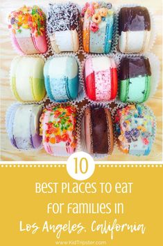 Angeles, California, Top 10 Eats 10 Best Places to eat with a family in Los Angeles. Top 10 Restaurants, Kid Friendly Restaurants, Los Angeles Restaurants, La With Kids, Los Angeles With Kids, Los Angeles Vacation, Kids Usa, Los Angeles California, California Trip