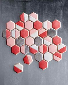 Hexagonal Sugar Cookies