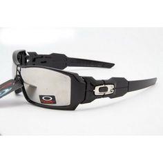 710435634ae  13.99 Replica Oakley Oil Rig Sunglasses Black Frame Smoky Lens Shop Deals  www.racal.