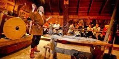 4E Lofotr Viking Feast: Learn about Norway's Viking history inside the largest Viking building ever found.