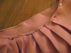 How to do a bias bound neckline or armholes