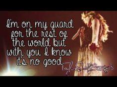 Sparks Fly (Live) - Taylor Swift - Lyrics