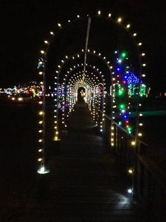 You really can't miss out on the Christmas Village in Irvine Park... It's so beautiful!