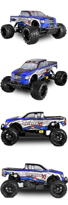 Cars Trucks and Motorcycles 182183: Redcat Racing Rampage Xt 30Cc 1 5 Scale Gas Monster Truck 4X4 Blue 1:5 Rc Car -> BUY IT NOW ONLY: $589.99 on eBay!