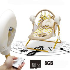 125.58$  Buy here - http://ali73h.worldwells.pw/go.php?t=32749191861 - Muchuan electric baby swing music rocking chair automatic cradle baby sleeping basket placarders chaise lounge 125.58$