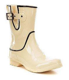 f010c0ebc834cf Chooka Classic Mid Fine Line Rain Boots Rain Gear