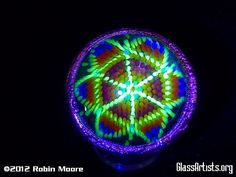 Peyote Mandala Magic Power Sphere by Robin Moore