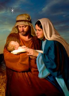 The Birth of Jesus in Bethlehem. The Nativity; Jesus is the Reason For Christmas Day. Religious Pictures, Jesus Pictures, Religious Art, Madonna, Jesus Christus, Birth Of Jesus, Baby Jesus, Mary And Jesus, Christmas Nativity