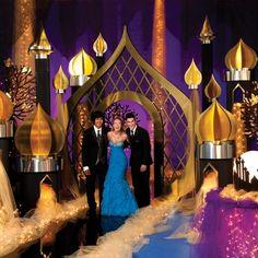 Go on a magic carpet ride with an Aladdin wedding theme!