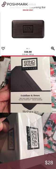 Erno Laszlo Sea Mud Deep Cleansing Bar Brand new! Still sealed Erno Laszlo Other