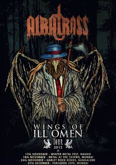 [News] ALBATROSS To Embark On 'Wings Of ILL Omen' Tour Next Week
