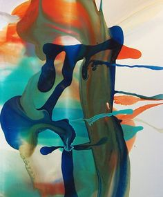DALE FRANK Aussie abstract artist.