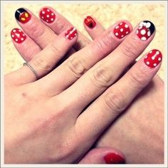 79 Wonderful Disney Nail Art Designs photo We've Got You Covered's photos @Jaime Weiss (thought of you)