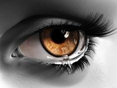 O Mundo Invisível de uma Mulher: As  lágrimas...