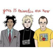 Artist Birthday, Warhol, Basquiat, Haring