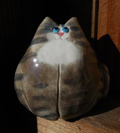 Fat Cat by Dragonware on Etsy