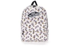 Béžový batoh s potiskem Minnie Vans Disney Old Skool