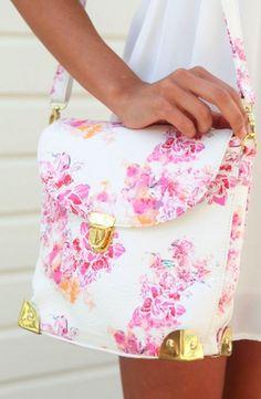 Pretty floral bag