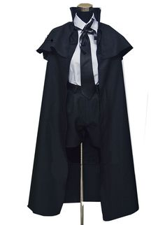 Relaxcos Black Butler Ciel Funeral Jacket Outfits Cosplay Costume ** For more information, visit image link.