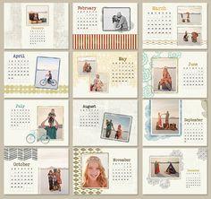 flush mount album designs - love these! Calendar Templates, Calendar Design, Scrapbook Cards, Scrapbooking, Personalised Calendar, 2012 Calendar, Graphic Design Fonts, Calander, Certificate Design