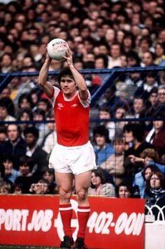 Pat Rice Arsenal 1980