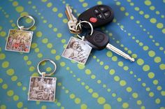 """It has been many, many,many years since I've had a set of keys that were """"mine"""". For a long time we were a one-car family, and even though we have two cars now, we tend to just grab whichever keys are on the hook rather than having designated sets. When I decided to make photo …"""