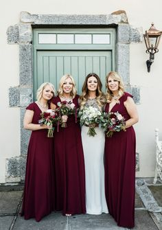 Emma and Ollie's love and laughter-filled wedding at Clonabreany House Bridesmaid Dresses, Wedding Dresses, Confetti, Real Weddings, Laughter, Love, Elegant, Flowers, Style