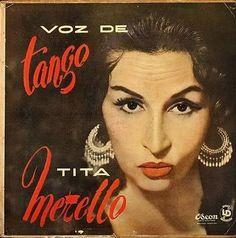 Tita Merello. Cantante y Actriz. Tita de Buenos Aires. Canta el tango como ninguna