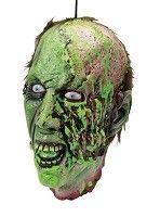 Cut Off Biohazard Zombie Head