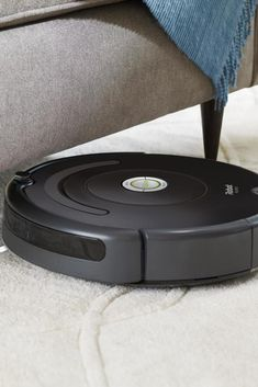 Connect to clean form anywhere with the Roomba 675 robot vacuum. Just press clean or schedule on the go with the iRobot HOME App. #lowes #cybermonday