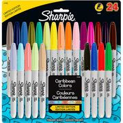 Sharpie Permanent Markers Fine Point - Assorted Colors - 24 Count $15.97- I also want these for nail art. They work awesome for drawing on nails.