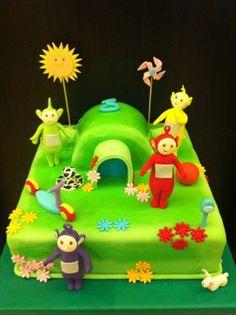birthday cake 11 teletubbies - Google Search