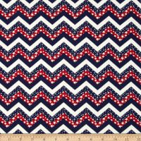 Made in the USA Chevron & Stars Red White Blue Fabric By The Yard: This cotton print fabric is made in the USA and perfect for quilting apparel and home decor accents. Colors include red white and blue. Chevron Borders, Blue Chevron, Blue Stripes, Pattern Blocks, Quilt Patterns, Youtube Sewing, Patriotic Quilts, Summer Quilts, Star Print