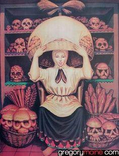 ♥ ♥ ♥ ♥☆★°•Let'S mOtiV °•☆★♥ ♥ ♥ ♥: ✟ Tête de mort ✞ tatouages ✟ art mexicain ✞ calaveras ✟