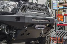 Love this shot of the Pelfreybilt Aluminum front bumper.