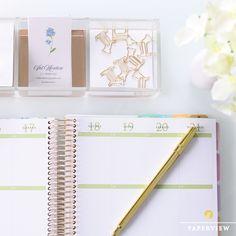Completar uma página em branco cheia de planos vai ser uma delícia! #meudailyplanner #dailyplanner #planneraddicts #planner2017 #paperview_papelaria