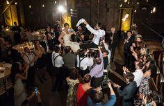 Gabrielle and Robert's Beautiful Saltwater Farm Vineyard Wedding | Jennifer Bach Photography