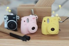 instax mini keychains - soooo cute and only $3.99!