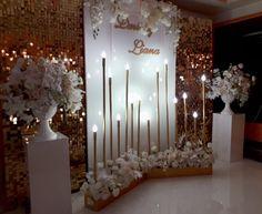 Backdrop Frame, Wedding Reception Backdrop, Engagement Decorations, Outdoor Wedding Decorations, Chapel Wedding, Wedding Photo Walls, Wedding Photos, Luxury Wedding Decor, Wedding Trends