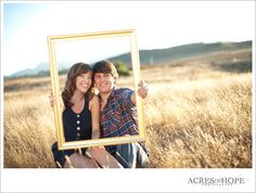 fun with an empty frame-- composition is beautiful on this shot
